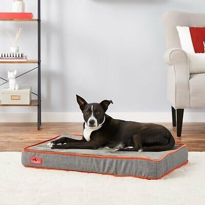 Brindle Waterproof Orthopedic Dog Bed
