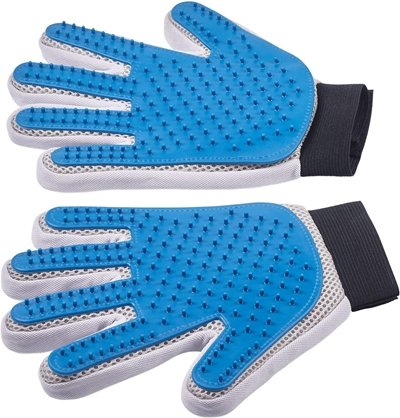 Pat Your Pet Five Finger  Dog Grooming Glove