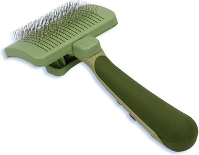 Safari Self-Cleaning Slicker Brush for Dogs